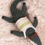 Šedý krokodýlek v tílku