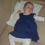 Šaty pro dvouměsíční miminko