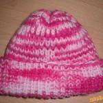 Jednoduchá pletená čiapočka
