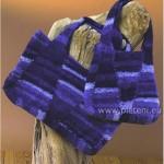 Nákupní taška a kabelka podobného střihu