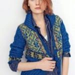 Žakárový kabátek Alpaca Silk