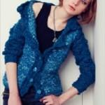 Modrý kabátek Mariana Color