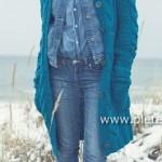 Dámský kabát Souflé