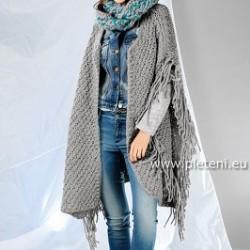Ručně pletený oděv z příze značek Schoeller+Stahl nebo Austermann