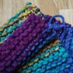 Pletená šála pro začátečníky