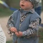 Pletená vesta pro kluky