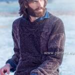 Pánský svetr z příze Irish Tweed