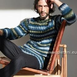 Ručně pletený oděv z příze značky Austermann