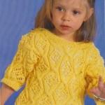 Letní žlutý pulovr