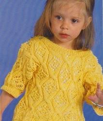 žlutý letní pulovr-400