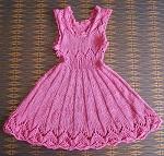 šatičky Růžový sen - vel. 1-2 roky