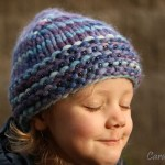 Vlněná tlustá čepice