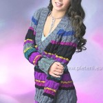 Pruhovaný pulovr Alpha