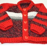Teplý zimný svetrík pre bábätko