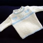 Srdíčkový pulovřík