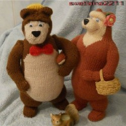 medvěd a medvědice