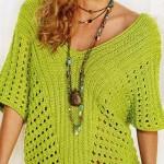 Ažurový pulovr Kateřina