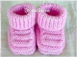 růžové boty-miminko-f