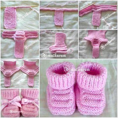 růžové boty-miminko