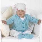 Modrý svetřík Baby Micro