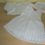 Bílá soupravička na miminko