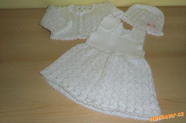 faed540cbcd6 Bílá soupravička na miminko – PLETENÍ – NÁVODY