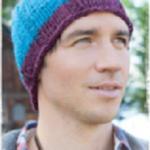 Modrá čepice Boston