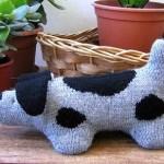 Pletený pes skvrnitý