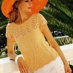 Pletené tričko Simplicity