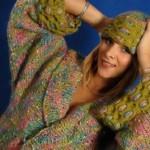 Dámský svetr z příze Nathaly