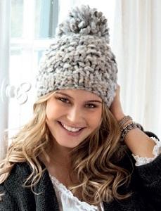 Dámská zimní čepice. Návod na ručně pletenou dámskou čepici pro obvod hlavy  56 až 58 cm. Model je pletený přízí Effetto (zn. Lana Grossa) na jehlicích  č. 49dc8908f59