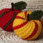 Pletené jablíčko