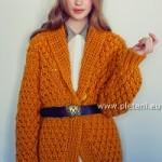 Oranžový kabátek Souflé
