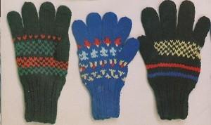 prstové rukavičky