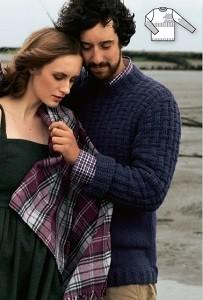 pulovr podle burdy