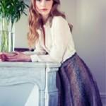 Příčně pletená sukně Murano Lace