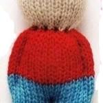 Nejjednodušší pletený panáček