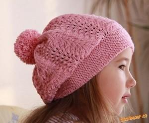 růžový baret
