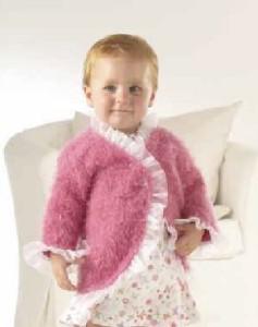 růžový kabátek