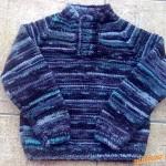 Modrý svetřík pro kluky