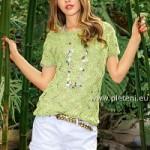 Pletené tričko Sandrin
