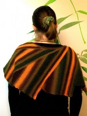 cípatý šátek