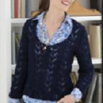 Krajkový pulovr Margareta