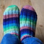 Pletení ponožek podle Kukuruku