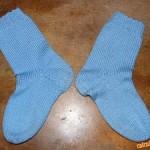 Technika pletení ponožek 5 jehlicemi