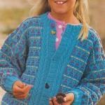 Pestrý dětský svetr