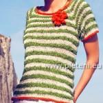 Pruhované tričko Frizzy