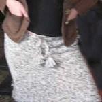 Jednoduchá úzká sukně