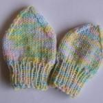 Kojenecké rukavičky ve dvou velikostech