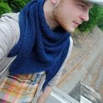 Trojúhelníkový šátek Boneyard